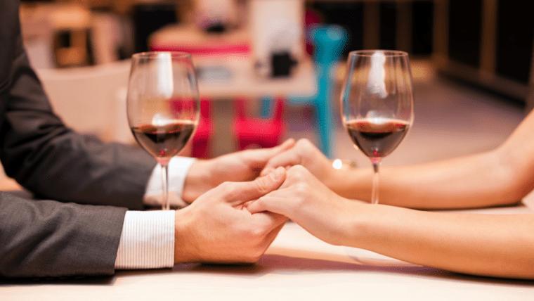 男性とデート